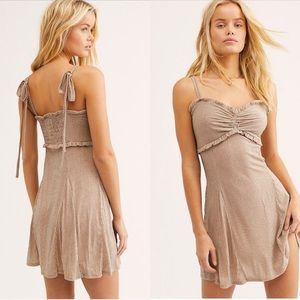Free People Shine Like Me Mini Dress